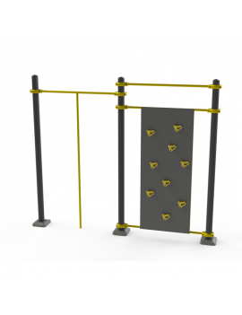 Workout  Rocodromo + pole
