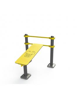 Workout  Banco de abdominales