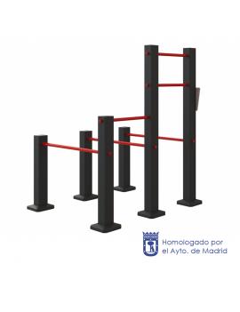 Workout Triple paralela 05