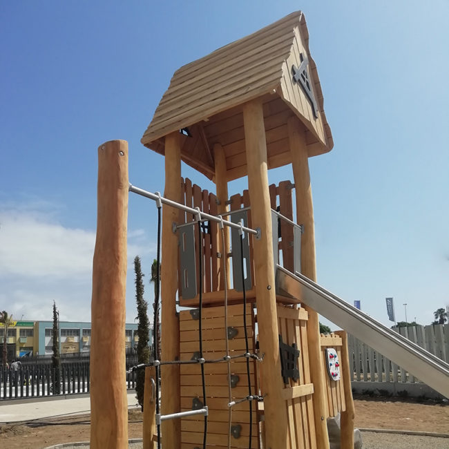 parques infantiles serie robinia