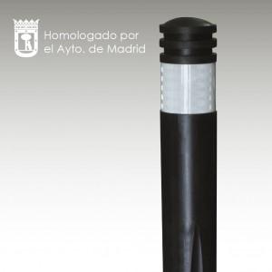 Mobiliario urbano homologado por el Ayuntamiento de Madrid